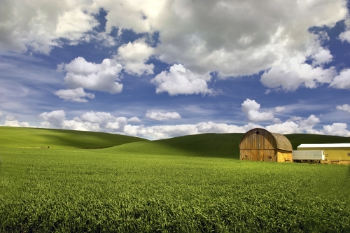 Palouse Rounded Barn